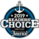 Providence, RI Journal 2019 Readers' Choice First Place Award