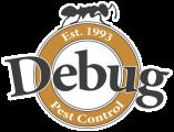 Debug Pest Control logo